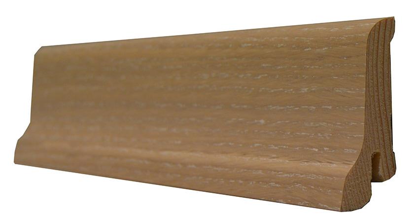 Плинтус Polarwood Дуб Белый